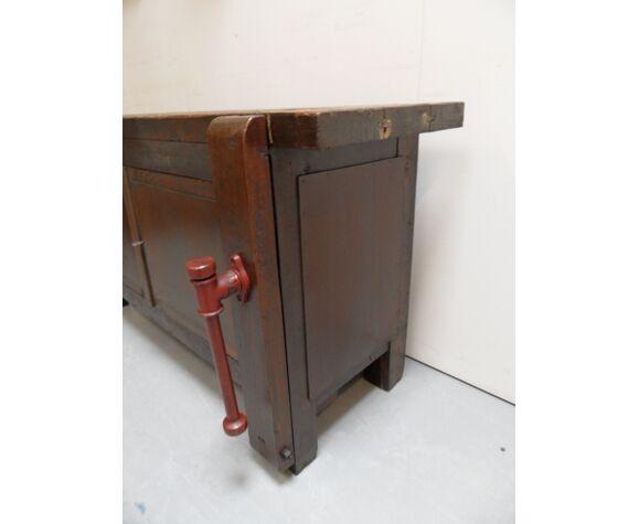 Établi industriel vintage
