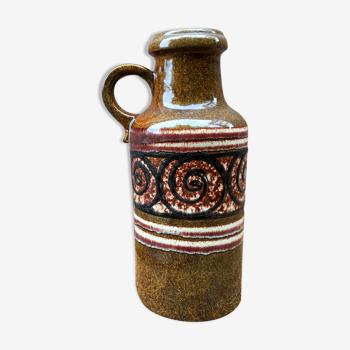Vase en faïence west germany