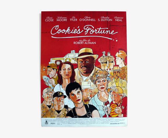 "Affiche cinéma originale ""Cookie's Fortune"" Robert Altman"