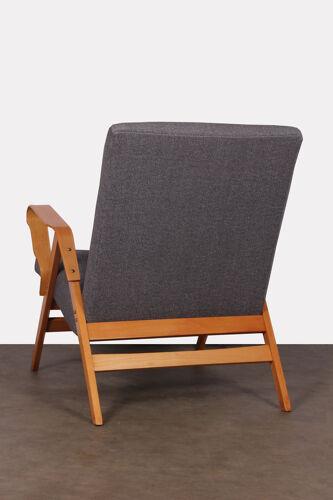 Pair of vintage armchairs edited by Tatra Nabytok, 1960