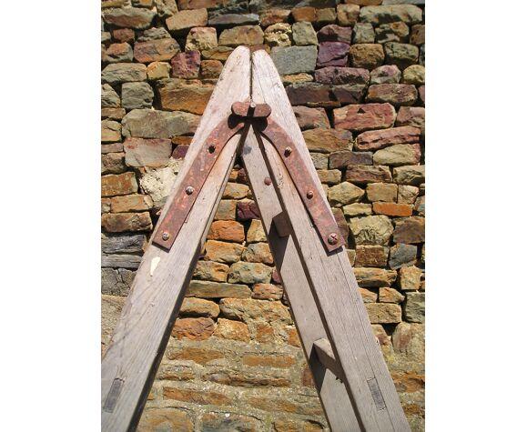 Echelle de peintre ancienne en bois