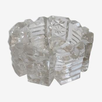 Cendrier en cristal vintage