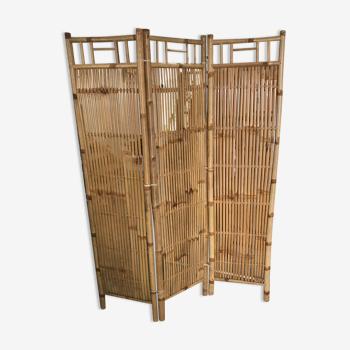 Bamboo screen 3 panels