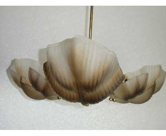Lustre vintage de coquille