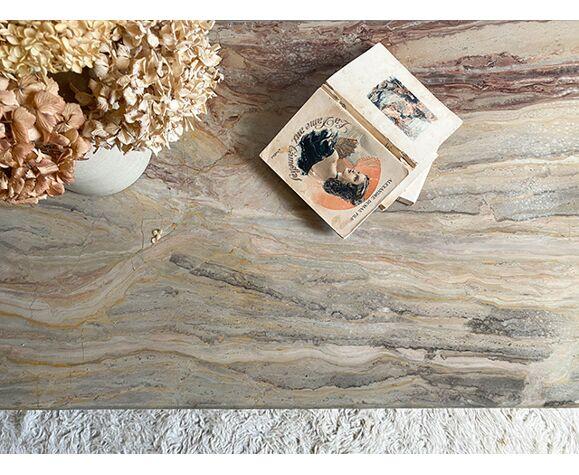 Table basse marbre onyx