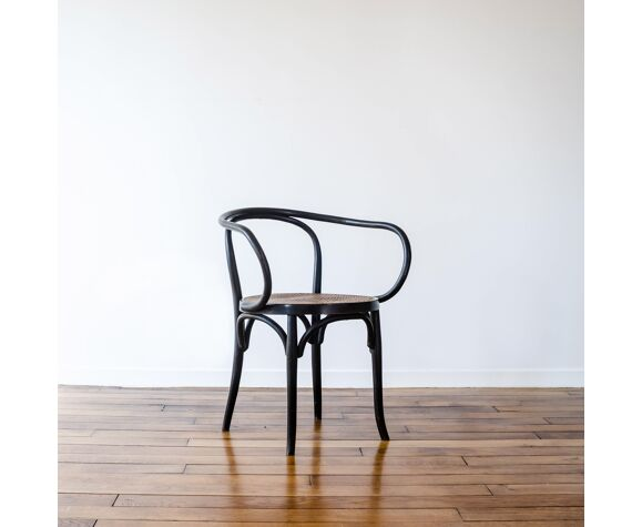 Fauteuil canné  « Le Corbusier », Editions Walter Baumann