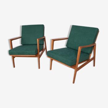 Fauteuils modèle 300-139 de Swarzędzka Furniture Factory années 1960