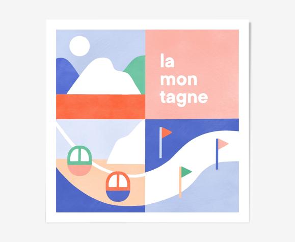 "Tirage ""la montagne"""
