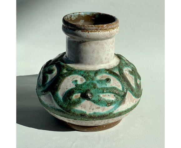 Vase céramique signée Strehla 60s