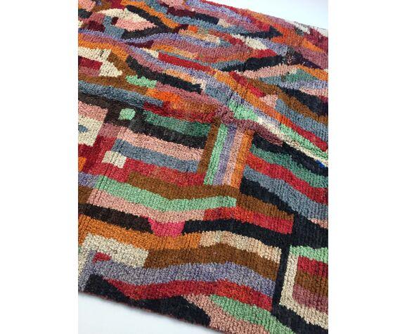 Tapis berbère marocain Boujaad à motifs colorés 294x192cm