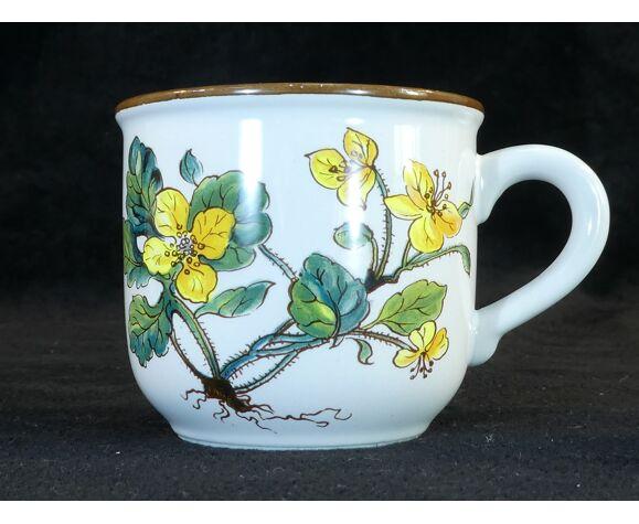 Set de 5 tasses et sous tasses a café Villeroy et Boch modele botanica