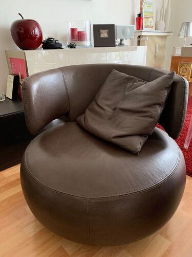 Paire de fauteuils Curl Roche et Bobois