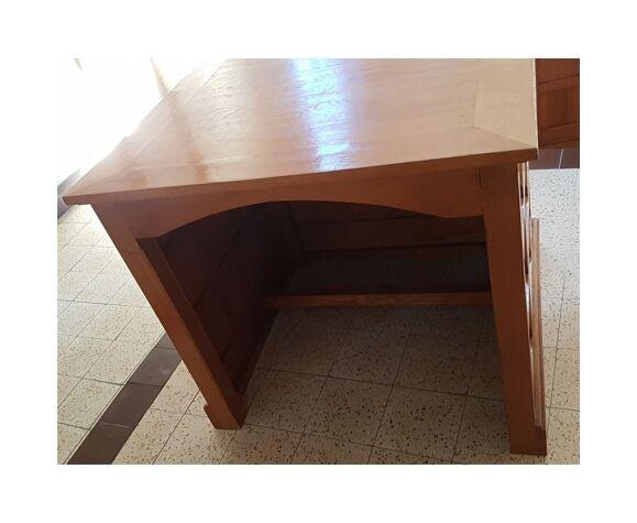 Comptoir en bois vintage