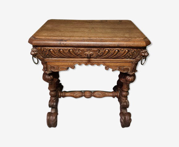 Table vers 1880