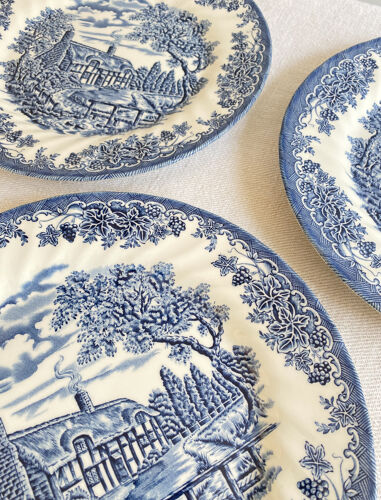 Assiettes Anglaises campagne