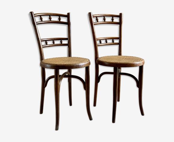 Paire de chaises Thonet