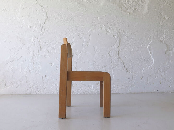 Chaise moderniste vintage pour enfants