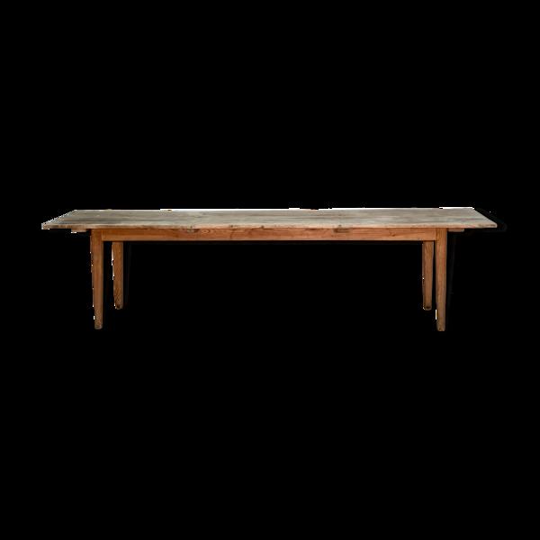 Selency Table de réfectoire 3m