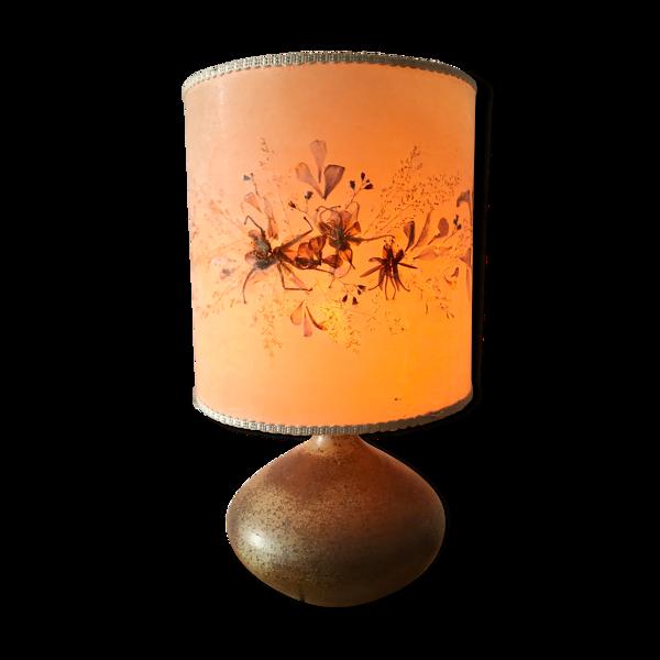 Lampe grès vintage