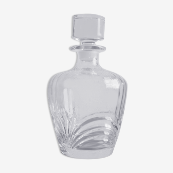 Carafe en cristal vintage