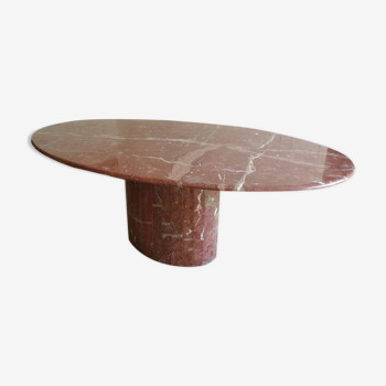 Table marbre ovale