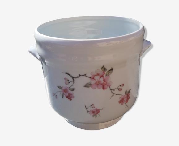 Cache-pot en porcelaine de Limoges