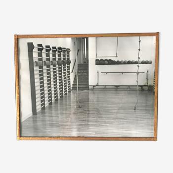 Photo salle de sport 1960 et cadre laiton