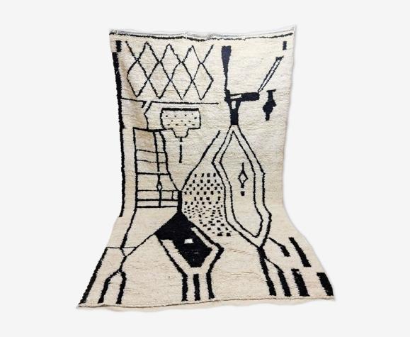 Tapis berbère marocain en laine 300 x 170cm
