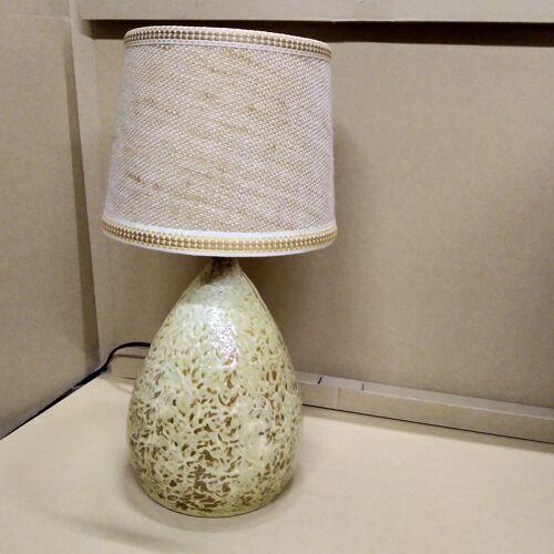 Lampe en terre cuite 1970
