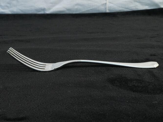 Set de 12 couverts a poisson Christofle art deco modele america par luc lanel