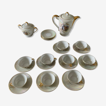 Service à thé et à café en porcelaine très fine