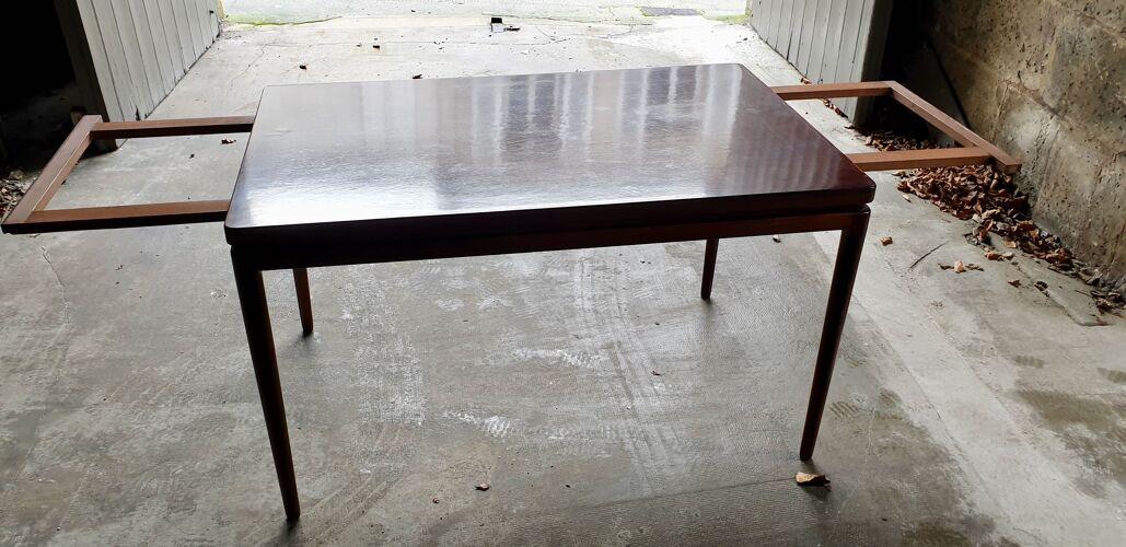 Table avec rallonges par Johannes Anderson édition Christian Linneberg