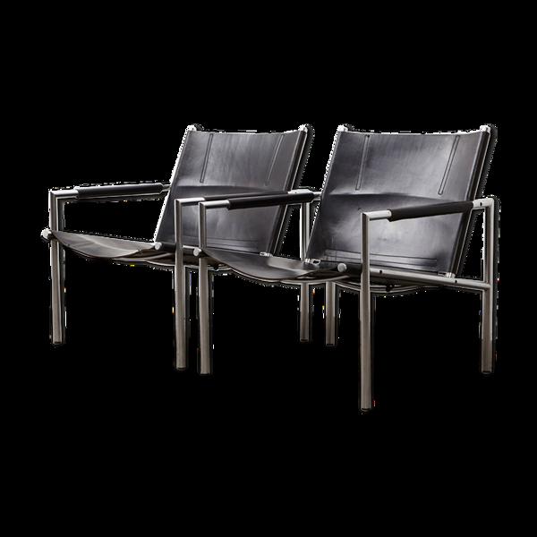 Paire de fauteuils SZ02 par Martin Visser pour 't Spectrum 1965