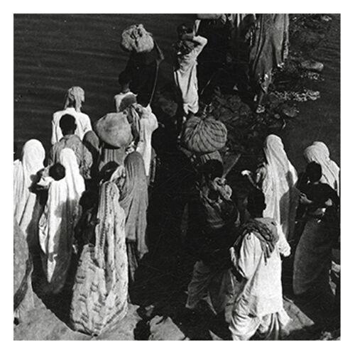 Photographie Pèlerinage au bord la rivière, rajasthan