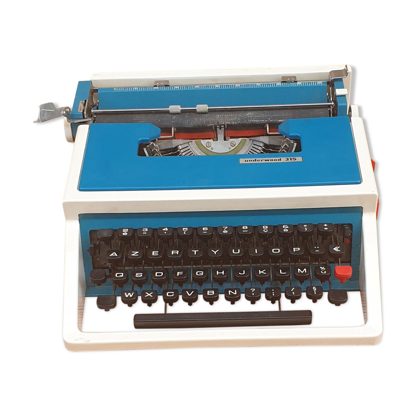 machine à écrire Underwood 315 années 70
