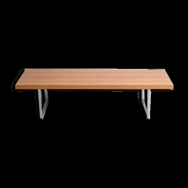 Table basse banc par Pierre Guariche pour Meurop 1960s