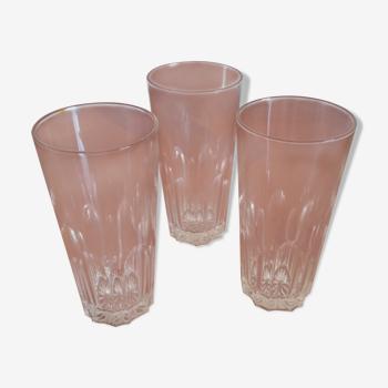 Set de 3 verres a anisette