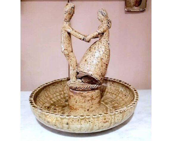 Fontaine à oiseaux par Jean Lerat