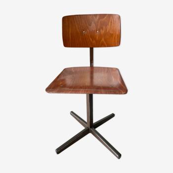 Marko vintage children's workshop chair
