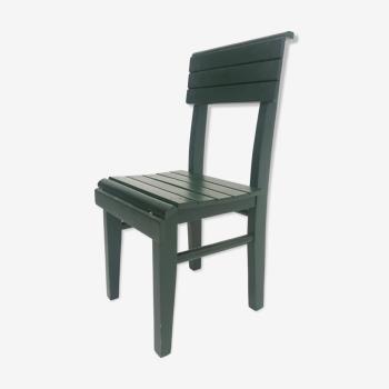 Chaise vintage en bois