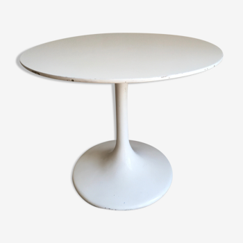 Table d'appoint pied tulipe 1970