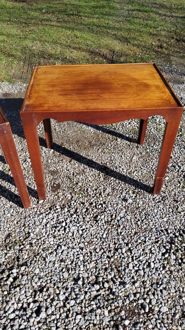 Set de 2 tables gigogne des années 50