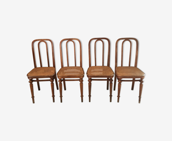 Lot de 4 chaises Thonet N41