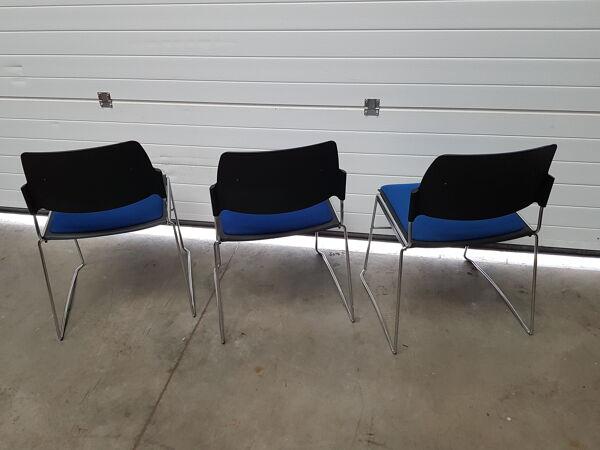 Chaises bureau visiteurs conférence année 2000