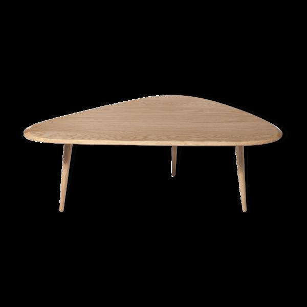 Selency Table fifties large chêne
