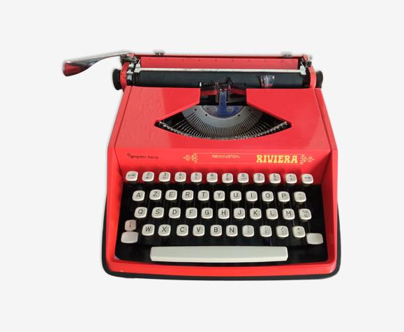 Machine a écrire Remington Riviera orange