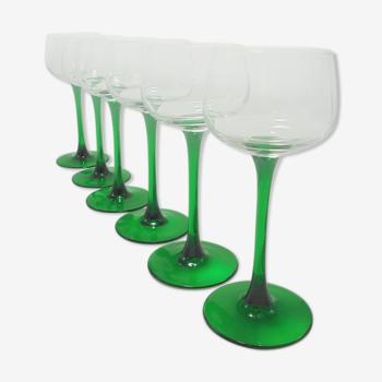 Set de 6 verres à pied