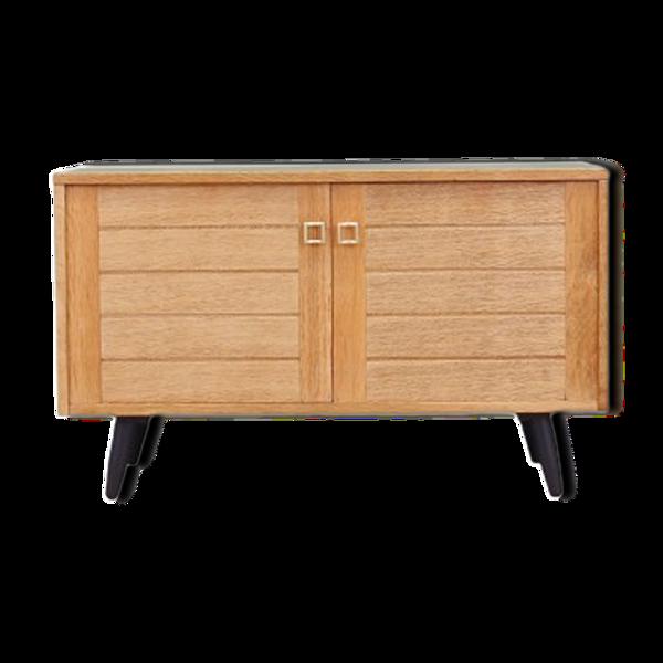 Buffet en chêne, design danois, années 1970, fabriquée au Danemark