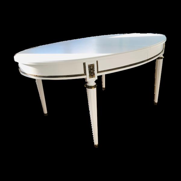 Selency Table à manger extensible de style Louis XV