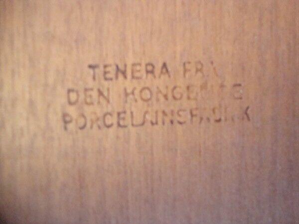 Table basse scandinave de Severin Hansen JR. Royal Copenhagen